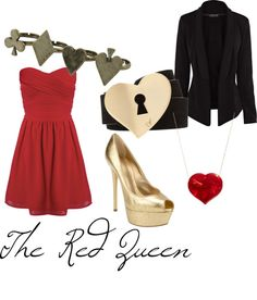 """""""Red Queen"""" by michelle-geiser ❤ liked on Polyvore"""