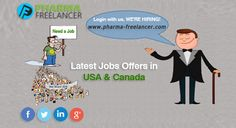 Find the Latest #USA Jobs in #pharmaceutical industry | http://www.pharma-freelancer.com/ Job in #USA #Online Jobs Apply Now!