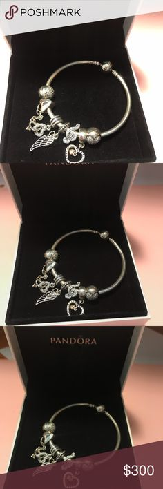 Spotted while shopping on Poshmark: Pandora charm bracelet! #poshmark #fashion #shopping #style #Pandora #Accessories