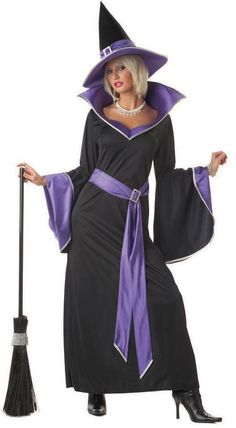 Incantasia The Glamour Witch Adult Costume - 100% polyester exclusive of decoration - X-Large