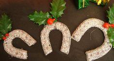 Adornos Navidad. Herraduras
