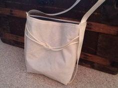 Sail bag tote bag purse made from repurposed sail by Sailknot