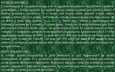 Peste Bubbonica-Peste Polmonare.