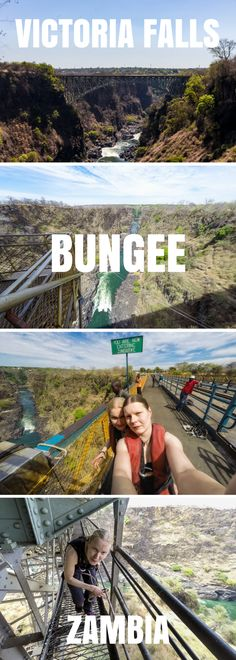 Victoria Falls Bungee offers the thrill of free-falling towards the crocodile-infested Zambezi river while gazing the epic view.