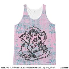 REMOVE YOUR OBSTACLES WITH GANESH YOGA TANK