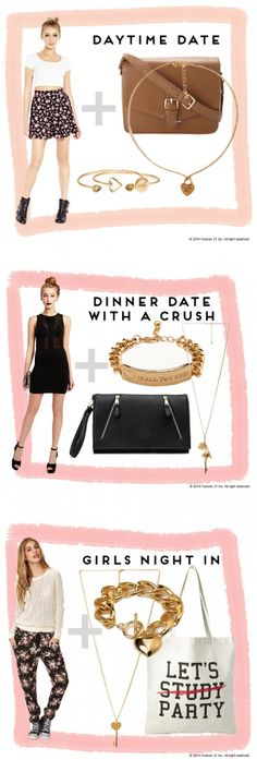 Not sure how to dress for your #VDay plans? Check out #TheNowBlog for #StyleTips