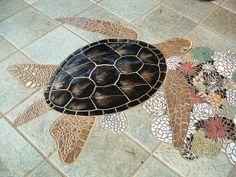 Turtle Mosaic by Arandale, via Flickr