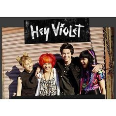 Hey Violet is Miranda Miller, Nia Lovelis, Casey Moreta, and Rena... ❤ liked on Polyvore featuring famous people
