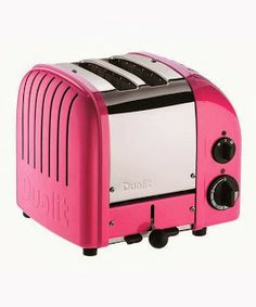 Dualit Pink Toaster ~ 40 GENIUS Kitchen Gadgets