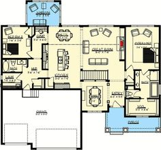 Just the Right Size - 73272HS | 1st Floor Master Suite…