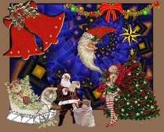 Święta Bożego Narodzenia: Animowane kartki życzeniami bożonarodzeniowymi 4th Of July Wreath, Wreaths, Handmade, Crafts, Diy, Painting, Decor, Christmas, Hand Made
