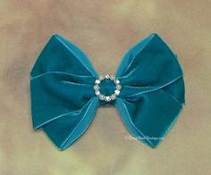 Many Colors Dressy Velvet RoseyBow® Hair Bow by RoseyBearBoutique