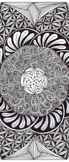Zendala dare # 34 (Bright Eagle)
