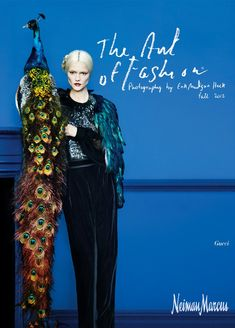 'Art of Fashion' by Neiman Marcus (A Fall Fashion Campaign)