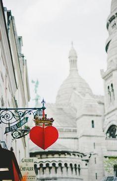 Montmartre ~ Sacre Coeur ~ Paris One of my favorite places on earth. Paris Travel, France Travel, The Places Youll Go, Places To Visit, Paris By Night, Paris Ville, I Love Paris, Shop Signs, Places To Travel