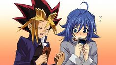 Yugi(Yu-Gi-Oh) and Aichi(Cardfight!! Vanguard) - I LOVE THIS!