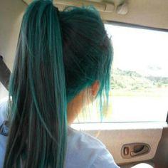 Love this mermaid hair