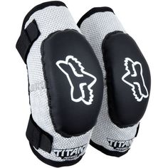Fox Titan Elbow Guards for Youth (Pair)