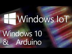 Hello World Demo with Windows Virtual Shields for Arduino - YouTube