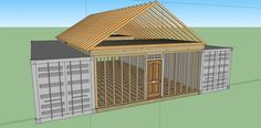 This site has a step by step explanation of how to build a shipping container home/cabin.