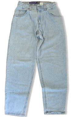 5e0d5cd4 Mens Levis SilverTab Baggy Jeans Light Blue Denim 30 x 32 Loose Fit 5  Pocket #