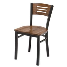 Metal Cafe Chair Seat and Back