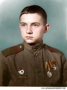 18 years old Hero of the Soviet Union Sergeant Herman Vladimirovich Korotkov.