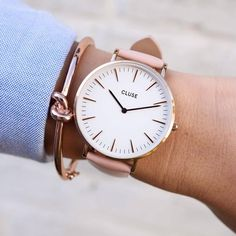 Our La Boheme timepiece in Pink is pastel perfection!