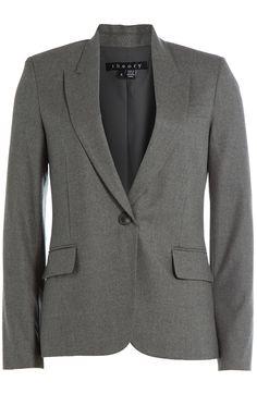 THEORY Wool Blazer. #theory #cloth #jackets