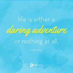 Have an adventure today!