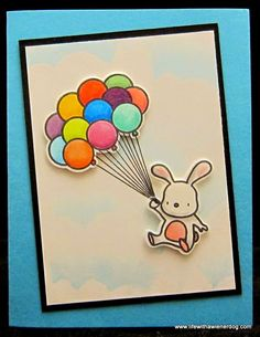 Life with a Wiener Dog: Up and Away with a Bunny