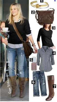 reese - boots + sweater