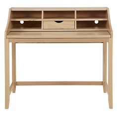 Buy John Lewis Loft Desk from our Office Desks range at John Lewis. Stair Landing, Office Looks, John Lewis, Office Desk, Nightstand, Entryway Tables, New Homes, Loft, Stuff To Buy