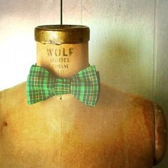Order to arrive by Xmas - Mens / Boys Bow Tie  Geek Chic Number 72  Bright by theHouseofLux, $37.00