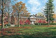 Guilford College by William Mangum