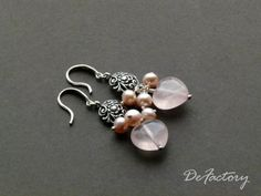 Looking for jewelry project inspiration? Check out Pink Hearts by member DeFactory. - via @Craftsy