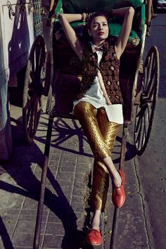 Pavalli Singh In Calcutta, Lensed By Colston Julian For Harper's BazaarIndia - 15 GlamTribale Nature Inspired Jewelry - Anne of Carversvill...