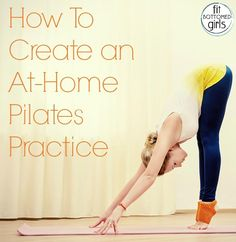 Bring the studio home with this guide to creating your very own at-home Pilates workout. Fit Bottomed Girls Bring the studio home with this guide to creating your very own at-home Pilates workout. Pilates Training, Pilates Workout, Body Pilates, Pilates Reformer, Pilates Fitness, Pilates Yoga, Barre Workouts, Pilates At Home, Workout Tips