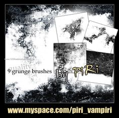 Grunge - Download  Photoshop brush https://www.123freebrushes.com/grunge-321/ , Published in #GrungeSplatter. More Free Grunge & Splatter Brushes, http://www.123freebrushes.com/free-brushes/grunge-splatter/ | #123freebrushes
