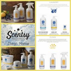 #Scentsy laundry and cleaning products available on September 1, 2015 in the Fall/Winter Catalog! https://yvonnesanya.scentsy.us