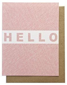 Say Hello | Phranzia Print Lab