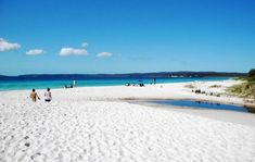 Most Secret Beaches -Hyams Beach, Jervis Bay, Australia has its share of pristine beaches, but only Hyams Beach can boast of a Guinness World Records entry for having the world's whitest sand. My local Beach:))) I Love The Beach, Beach Fun, Wales Beach, Boulder Beach, Australia, Beaches In The World, White Sand Beach, Beautiful Beaches, Places To See