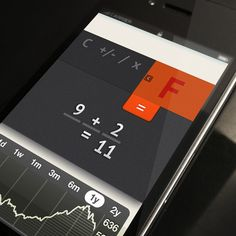 Simple Calculator Stocks, News & Charts design by Rovane Durso. - Best Mobile Designers In The World   Scoutzie