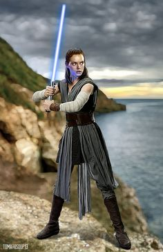 Rey - Star Wars - The Last Jedi - Daisy Ridley - 2 by tomatosoup13.deviantart.com on @DeviantArt