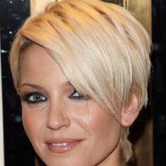 Sarah Harding - cute short cut