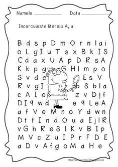 Preschool Activities, Alphabet, Education, Montessori, Basket, 1st Grades, Alpha Bet, Onderwijs, Learning