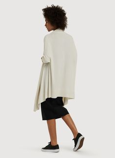 Women's Wool and Cashmere Cardigan | Comforter Wrap | Kit and Ace
