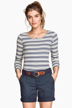 Shorts modello chinos | H&M