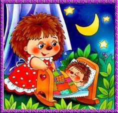колыбельная для сыночка (25 pieces) Frozen Wallpaper, Cute Kids Pics, Children Sketch, Good Night Gif, Spirited Art, Cute Hedgehog, Cute Characters, Graphic Illustration, Colorful Backgrounds