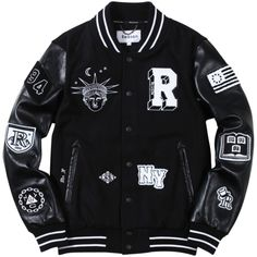Bad Kids Varsity Jacket - Black/White Bad Kids Varsity Jacket - Black/White Source by afaizul Jackets Swag Outfits Men, Casual Outfits, Leather Varsity Jackets, Leather Jacket, Jacket Men, Varsity Jacket Outfit, Bad Kids, Mode Hijab, Vintage Jacket